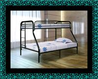 Full twin bunkbed frame Temple Hills