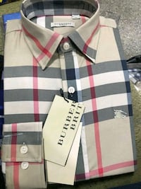 white, black, and red plaid polo shirt Pleasant Hill, 94523