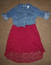 Girls jean dress 6x North Las Vegas, 89031