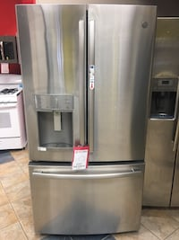 stainless steel french door refrigerator Dallas, 75237