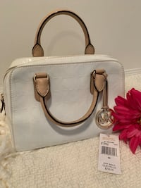 Authentic Michael Kors White Satchel Bag Mississauga