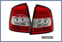 PILOTOS LED ROJO/CROMO ASTRA G HATCHBACK MADRID