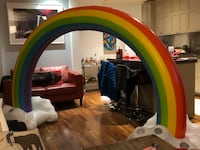 PRIDE - Amazing huge blow up rainbow pool float - with Pump Vancouver, V6G 3K4