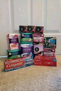 Hygiene products(prices vary)  Colorado Springs, 80916