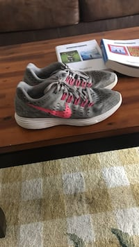 pair of gray-and-pink Adidas sneakers Conway, 72034