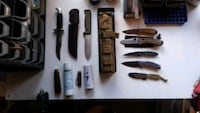 Knives, various Chester, 10918