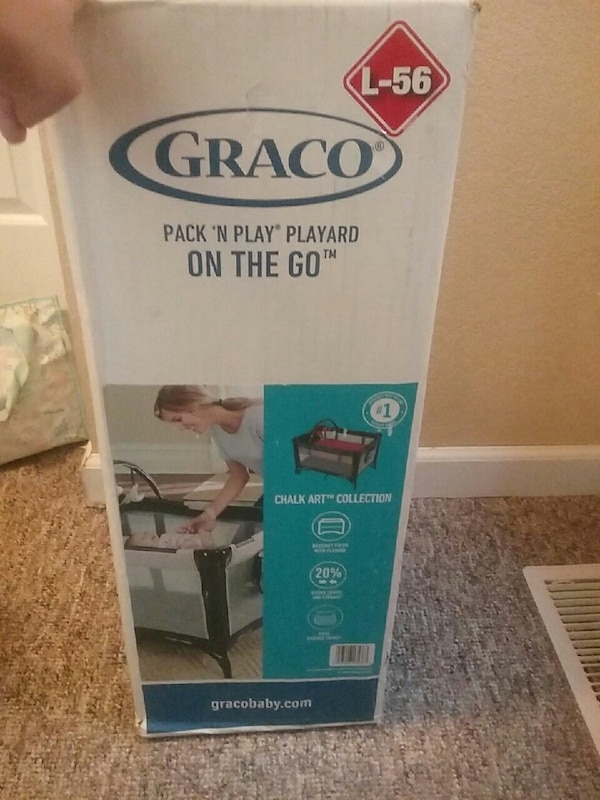 993ae1e0226 Used Graco pack  n play playard on the go box for sale in Butte - letgo