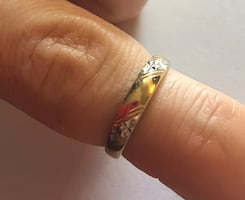 Estate jewellery 10k yellow gold ring