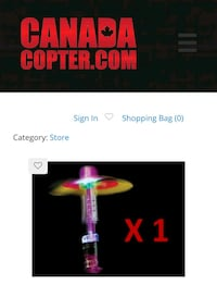Canada Copter LED Flying Toy  Mississauga