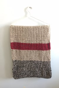Roots Knitted Infinity Scarf Toronto, M2R 3T8