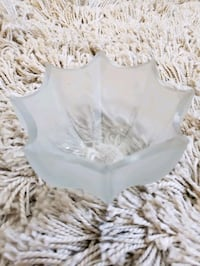 Small frosted glass bowl  Fairfax, 22030