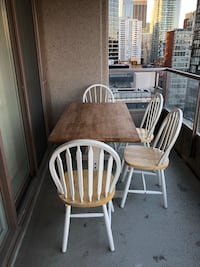Well loved table and chairs