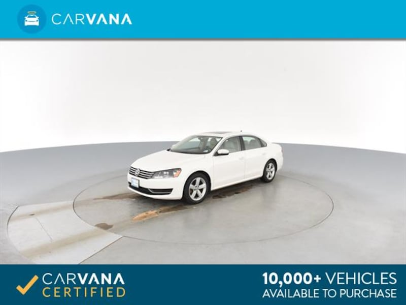 2013 VW Volkswagen Passat sedan 2.5L SE Sedan 4D White <br /> 5