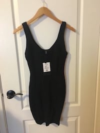 Bershka black dress size S brand new with tag fit very nice  Toronto, M9M 2T1