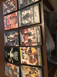 UFC SPORTS DVD's. A large collection Danville, 94506