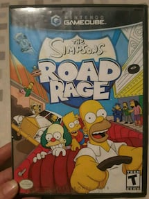 TheSimpson's road rage GAMECUBE