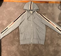 Gucci striped hoodie- size medium New York
