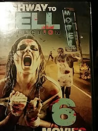 highway to hell selection 6 movies set DVD case