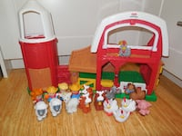 Fisher Price Little People Farm and Figures  VANCOUVER