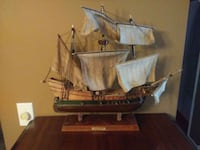 brown wooden galleon ship scale model Burnaby, V3N 4R2