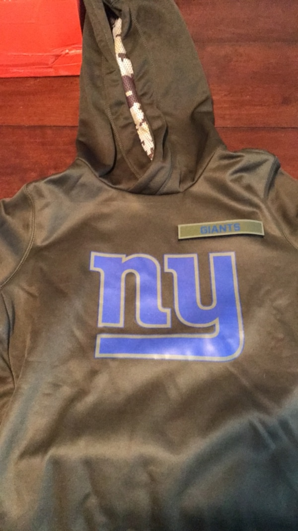 premium selection 9f8e5 79f91 New York giants salute to service hoodie