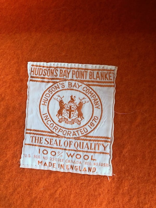 Authentic vintage Hudson's Bay Company 4 point blanket 100% Wool a5648849-166c-45bd-95f4-06fa31ec995a