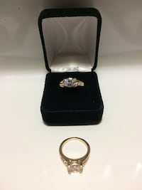 Gold Plated Engagement Ring