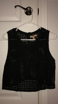 women's black sleeveless top Montréal, H2S 2P7