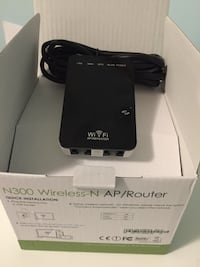 N300 Wireless repeater Range Extender Toronto, M4L 3M3
