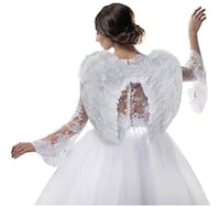 Brand New in Bag 23.6 X 17.7 inches Angel Wings for Kids Angel Costume Hayward, 94544