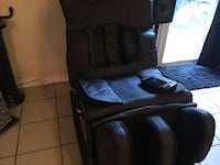 BRAND NEW CHOCOLATE BROWN MASSAGE CHAIR WITH NO ARMS  Lawrenceville, 30044