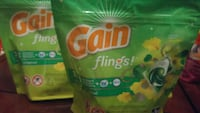 5 bags of flings with 14 in each bag