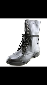 Grey leather boots new in the box.2 for $25 Los Angeles, 91606