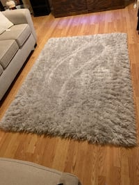 white and Gray area rug Marietta, 30062
