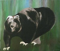 Bear painting VANCOUVER