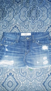 Abercrombie and Fitch jean skirt Oklahoma City, 73108