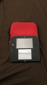Nintendo 2ds (red) with cover  Los Angeles, 90037