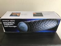Sharper Image Magnetic Therapy roll massager box 2261 mi