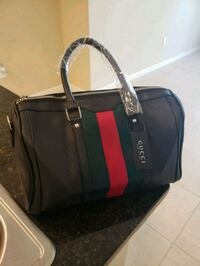 black and red leather tote bag West Palm Beach, 33401
