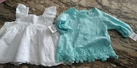 Brand New Tops With Tags On for 6 month old Mississauga
