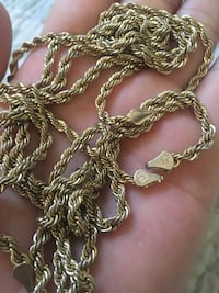 gold-colored chain necklace Los Angeles, 90059