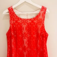 New Red Lace Dress Size L  Montréal, H2Z 1G6