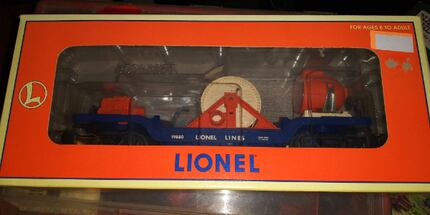 Lionel , MTH o scale cars, new in box