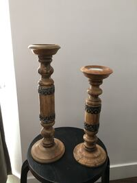 Oriental candle holders  Toronto, M6G 2A2