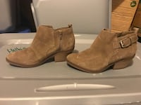 Tan ankle booties Washington, 63090