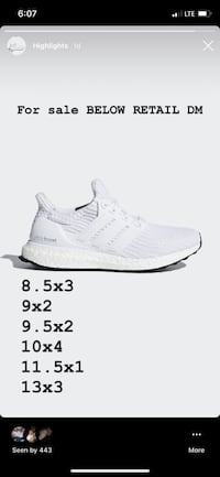 Triple white ultra boost 4.0