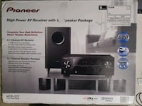 Pioneer 5.1 home theater system with receiver Dublin, 94568