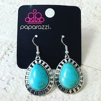 pair of silver-and-teal earrings Ashburn, 20148
