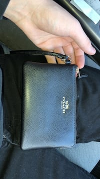 black leather Kate Spade wristlet Farmington Hills, 48336