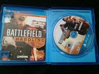 PS4 Battlefield Hardline disc with case Bakersfield, 93313